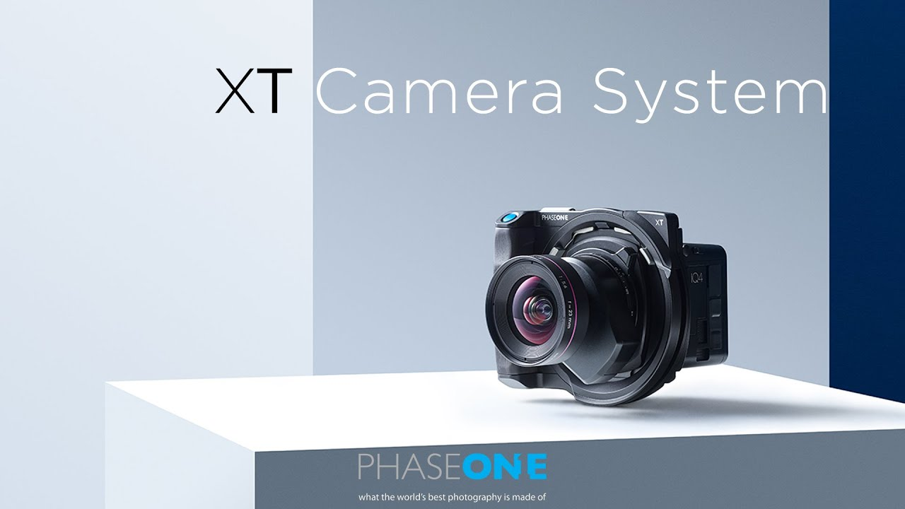 Phase One XT Medium Format Camera System Officially