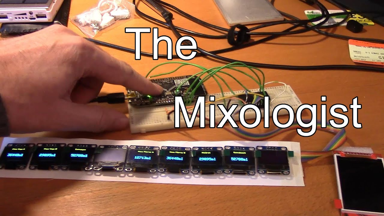 The Mixologist - Automated nutrient mixing for hydroponics