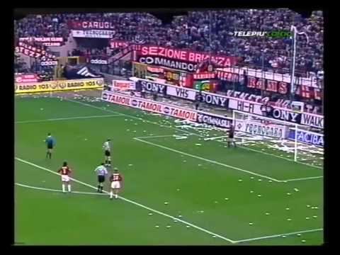 Milan - Juventus 1-6 (6th April 1997) - 1st half