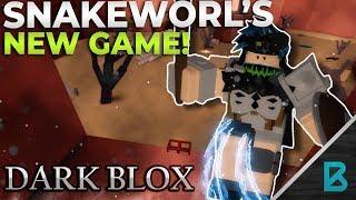 SNAKEWORL'S NEW GAME! DARKSOULS BUT IN ROBLOX? | DARKBLOX | ROBLOX