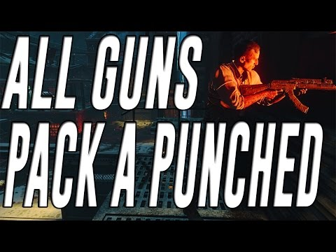 All Guns Pack a Punched in Black Ops 3 Zombies