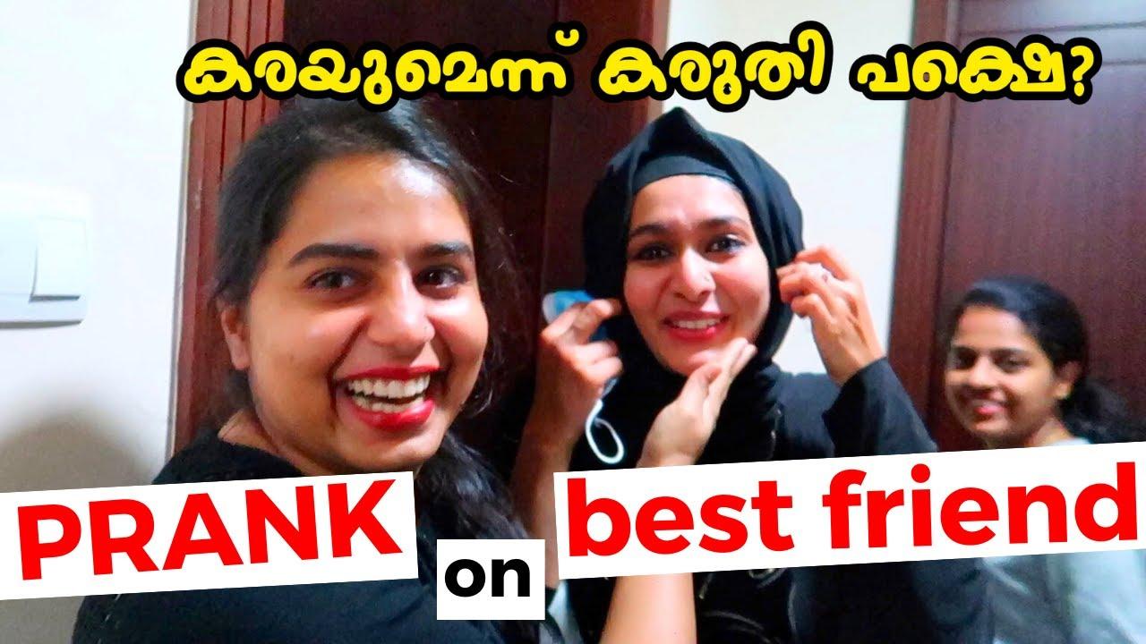 Prank on best friend - Vlog#206