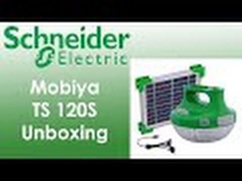 Schneider Mobiya TS 120S | Portable Solar LED | Unboxing ...