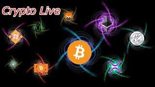 Bitcoin Live : BTC High and Tight Flag.  Episode 568 - Crypto Technical Analysis