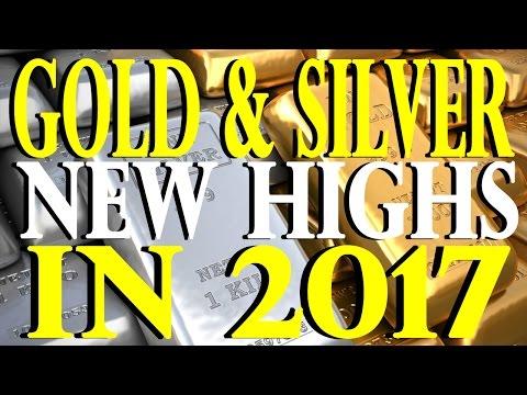 New Gold & Silver Highs in 2017 | Bill Murphy
