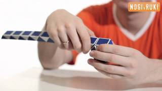 Шар из змейки рубика(Новые головоломки на видео. Как собрать шар из змейки рубика., 2011-02-17T11:33:44.000Z)