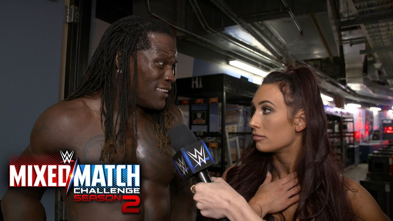 R Truth Carmella Find The Fabulous Truth In Their Mixed Match