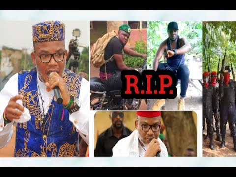 Download Nnamdi Kanu Mourn ESN Legend Ikonso and Vow To Avenge His Death - Rest On Freedom Fighter