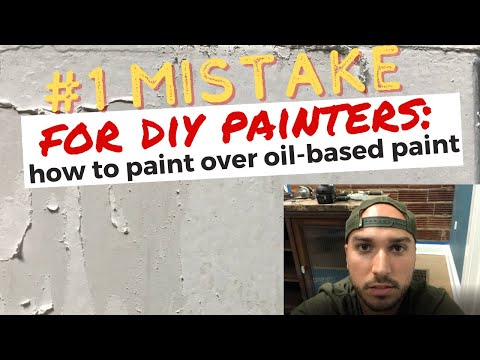 #1 Mistake DIY Painters Make (How to paint over oil based paint)