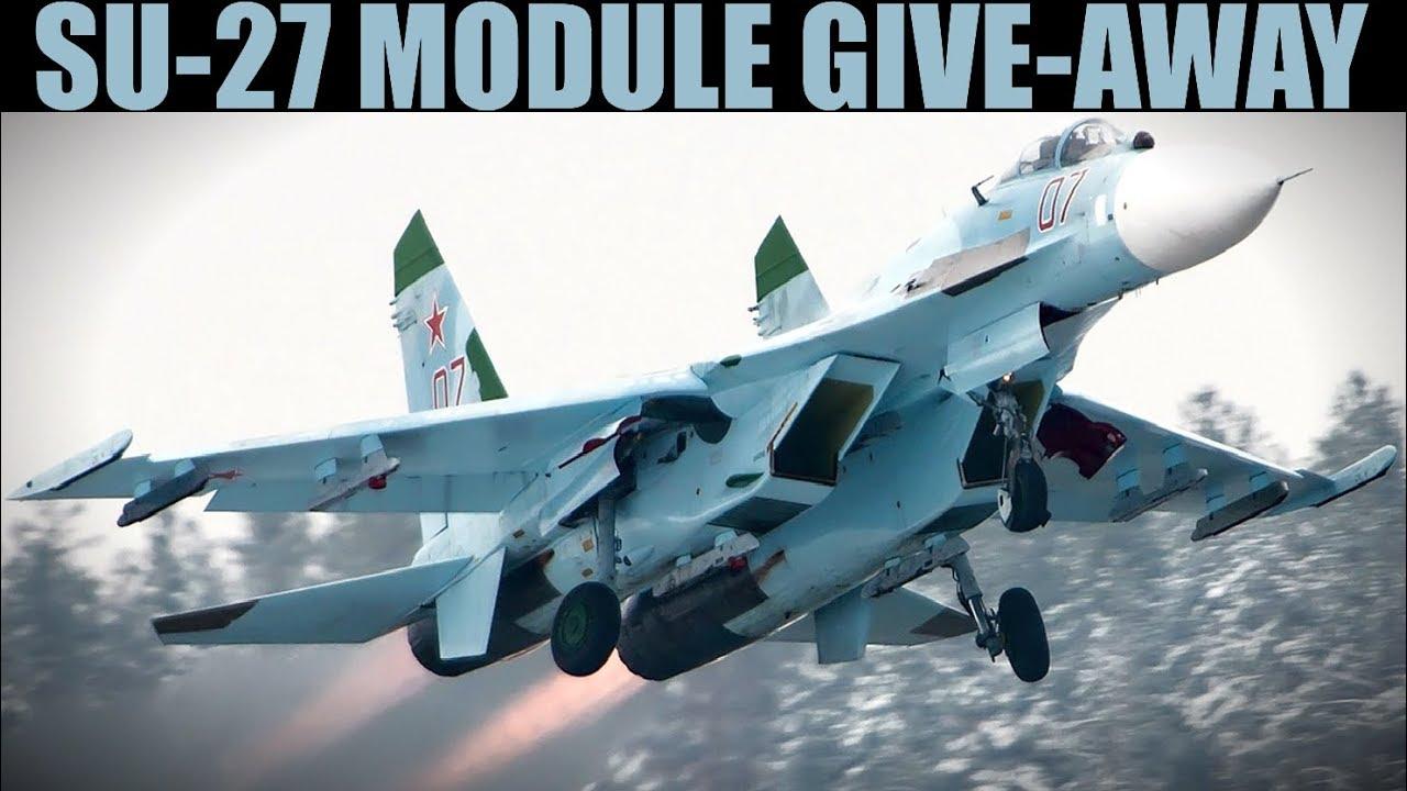 FREE Su-27 Flanker DCS WORLD Module Give-away!