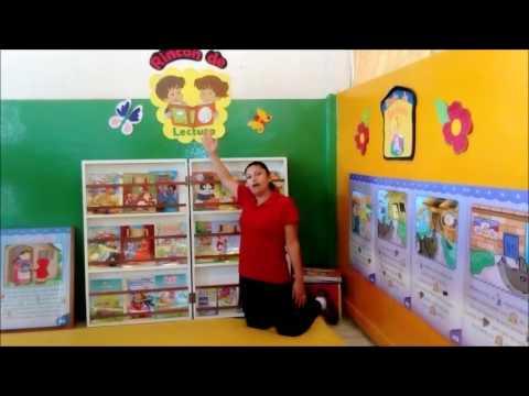 Rinc n de lectura educacion inicial youtube for El rincon de la lectura
