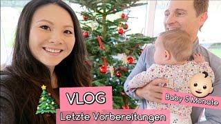 LETZTE VORBEREITUNGEN | BABY 5 MONATE | TANNENBAUM SCHMÜCKEN | WEIHNACHTEN MIT KINDERN | Mamiseelen