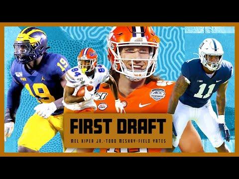 Mel Kiper and Todd McShay go head to head in a 22-man mega draft! | First Draft
