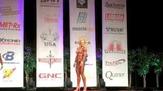 Соревнование клиентки по Бидифитнесу Лас Вегас