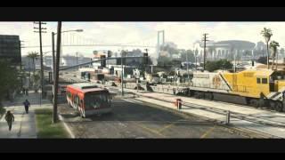 GTA 5 - перевод второго трейлера от Google-Promt