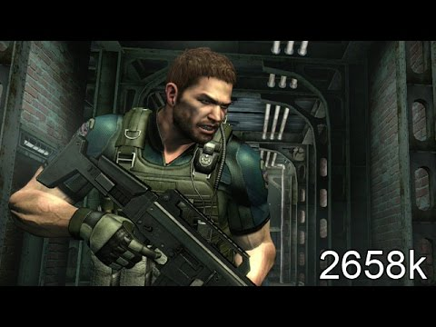Resident Evil 6 PS4 NO MERCY Rooftop 2658k Chris BSAA 60fps
