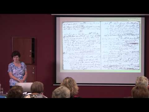 The records of the English parish church with Viv Parker