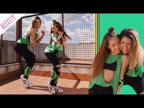 TUTORIAL BAILE  X (EQUIS) - Nicky Jam & J. Balvin - FAMILY GOALS