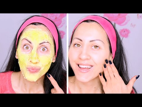 Schizzi trattamenti per il viso