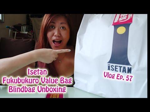 Isetan Japanese Fukubukuro Value Bag/Blindbag Unboxing | Singapore | Vlog Ep 57