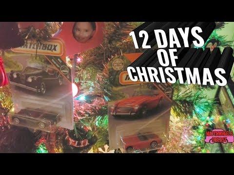 12 DAYS OF CHRISTMAS (2018) 08/09: Matchbox Jaguar and Austin Healey Roadsters