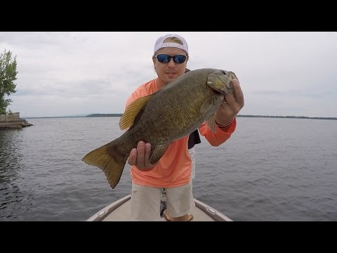 Smallmouth Bass Fishing on Lake Champlain