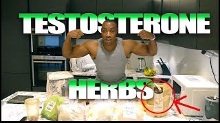 Herbs For Boosting Testosterone & Bodybuilding | Dr Sebi -  Alkaline