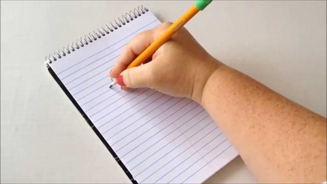 Teaching children how to keep a pen when writing: 8 simple ways and a few helpful tips 94