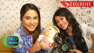 Watch: Heena Khan And Shivangi Joshi's Off Screen Bond | Yeh Rishta Kya Kehlata Hai | Star Plus