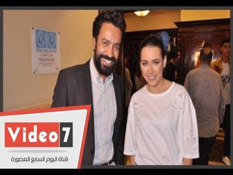 كواليس فيلم عيش حياتك للنجم سامح حسين والمطربة ساندى  - 23:22-2018 / 4 / 22