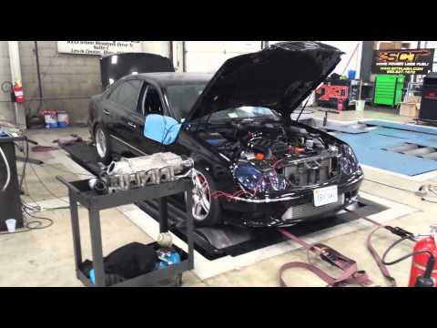 Fabberge Twin Turbo E55 First Pull
