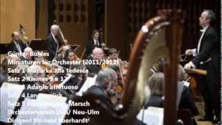 Günter Buhles  Miniaturen für Orchester Sätze 1-5