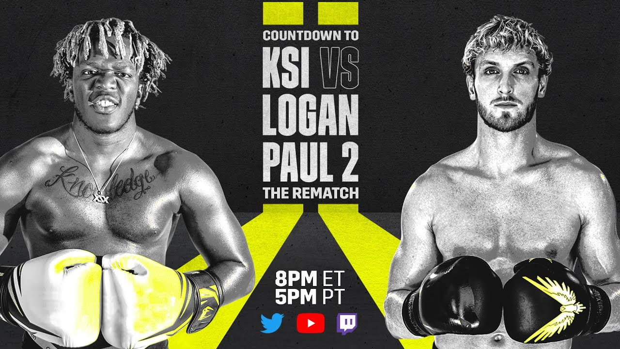 Logan Paul vs. KSI 2: Live fight updates, round-by-round-results ...