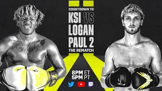 Countdown to KSI vs. Logan Paul 2