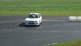 Castle Combe Rallyday 2011 WRC Spins & Donuts