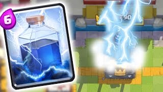 "Clash Royale - ""3 CROWNS ONLY LIGHTNING"" Best MASS Deck Troll (Clash Royale Strategy Funny Moments)"