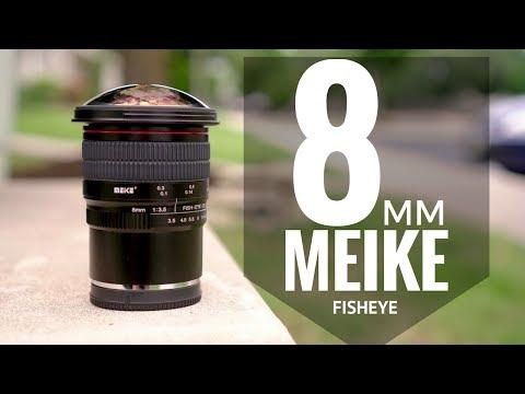 Meike 8mm F/3.5 Ultra Wide Fisheye For E-Mount