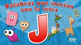 Palabras que inician con la letra J en español para niños - Videos Aprende