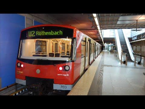 trainspotting n rnberg flughafen u bahn mit dt3 youtube. Black Bedroom Furniture Sets. Home Design Ideas