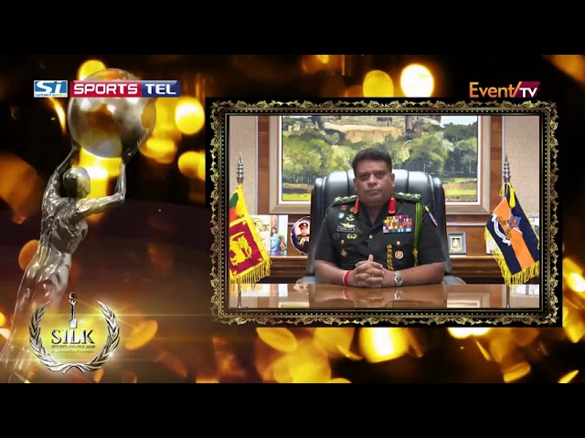 General Shavendra Silva ,CDS & Commander of the Army Voice cut @ 6th Silk Sports Awards on 22 Jan 21