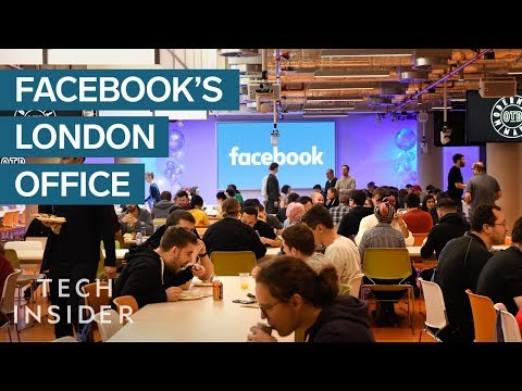 Exclusive Look Inside Facebook's Engineering Office In London