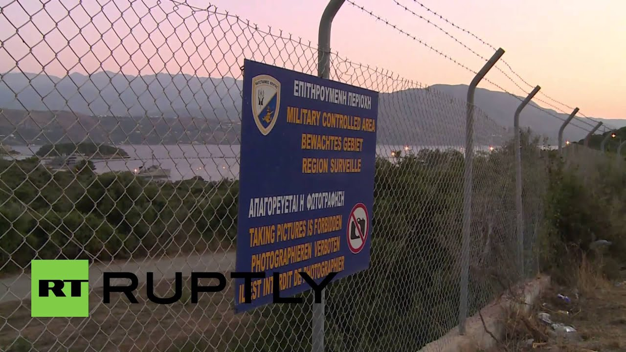 Download Greece: Syrian weapons off our soil, say Crete protesters