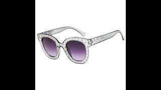 Женские солнцезащитные очки с сияющей звездой модные очки круглые винтажные oculos de sol