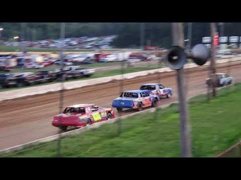 Kyle Deneen Heat Race Bedford Speedway 7/26/29 Bedford County Fair Race