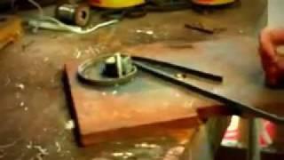 homemade scroll bender