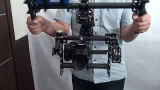 Repeat youtube video FlyCam 3-Axis Steadicam Rig for DSLR