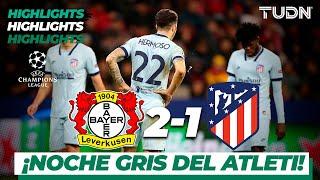 Highlights   Leverkusen 2   1 Atl Madrid   Champions League   J4   Grupo D   Tudn