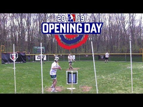 2019 OPENING DAY | Diamondbacks vs. Eagles | MLW Wiffle Ball