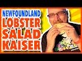 Newfoundland Lobster Salad Kaiser Review from Hillgrade, Newfoundland, Canada