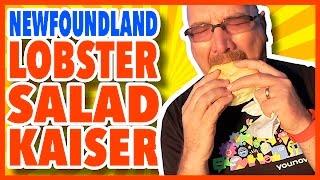 Newfoundland Lobster Salad Kaiser Review from Hillgrade, Newfoundland, Canada